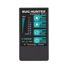 Купить Детектор жучков BugHunter Professional BH-01 по цене 46,000.00 тг. - в интернет магазине ultrashop.kz