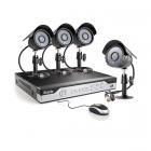 Профессиональная система видеонаблюдения Zmodo Street