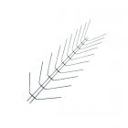 Противоприсадные металлические шипы от птиц Игла П-1